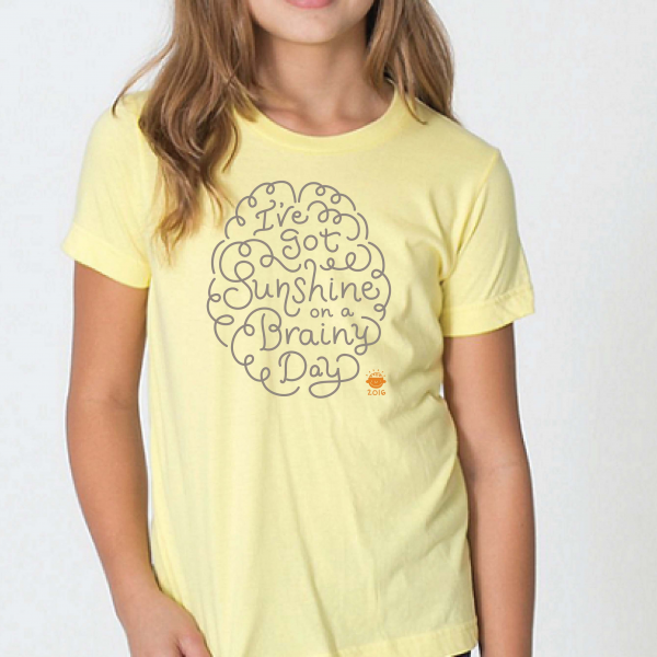 2015 Brainy Day kids t-shirt
